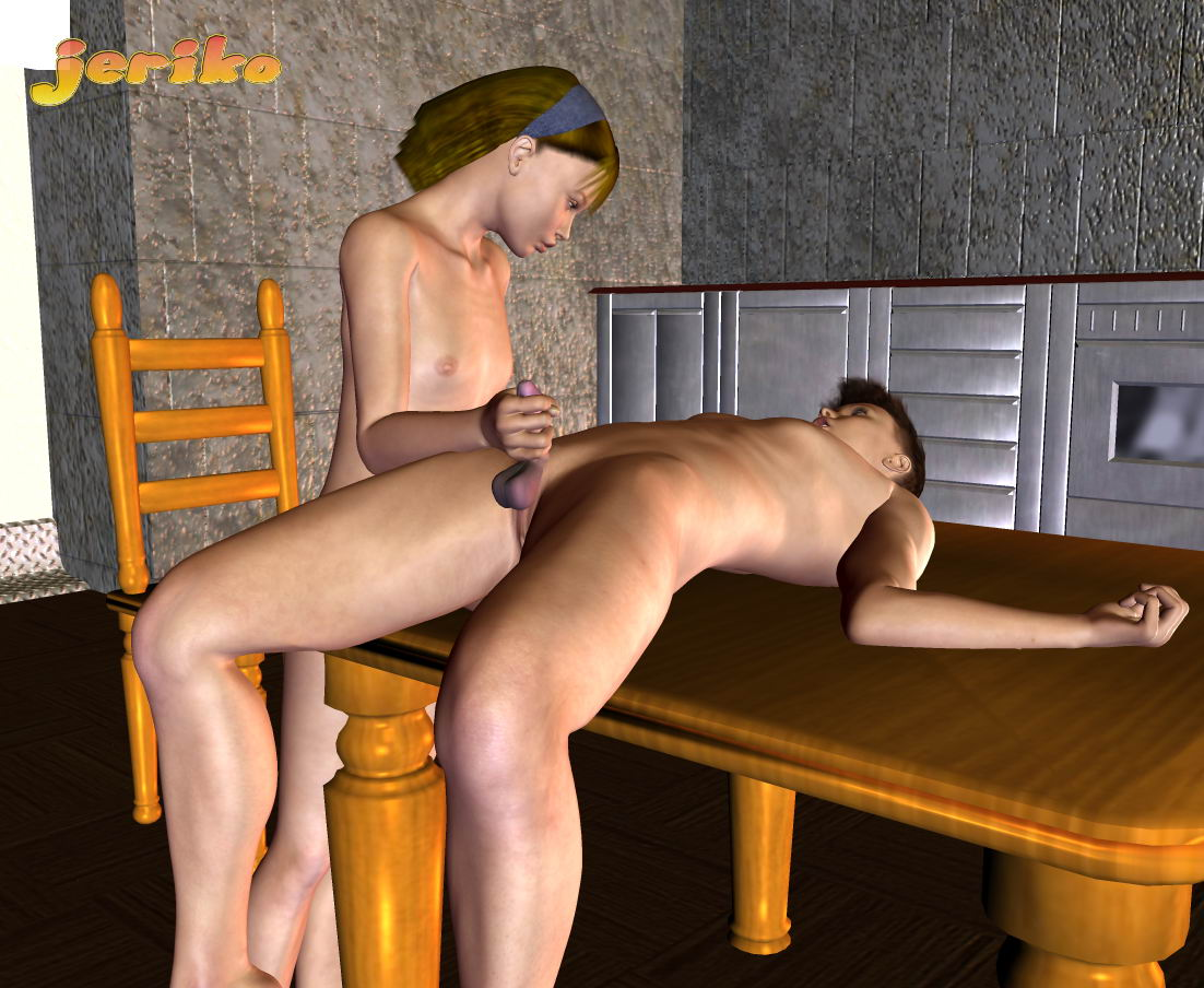 One of 3d incest stories with pal licking pussy of sis
